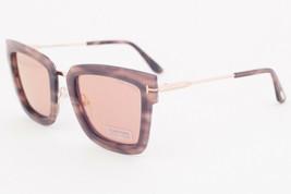 Tom Ford LARA Havana / Brown Sunglasses TF573 55Z LARA-02 - $224.42
