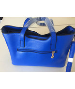 New Elegant Designer Inspired Women Brigh Blue Fashion Handbag Crossbody... - $37.61