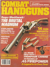 A vintage issue of the magazine Combat Handguns... - $12.99