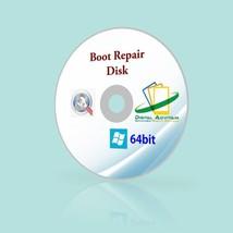 Boot PC Repair disc Software Recover Windows Fi... - $7.34