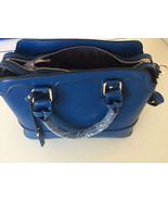 New Elegant Designer Inspired Women Blue Fashion Handbag Crossbody Satchel - $34.64