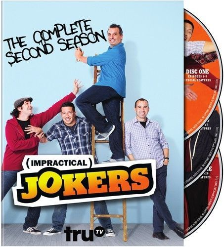 Impractical Jokers: The Complete Second Season 2 (DVD Set) TV Comedy New