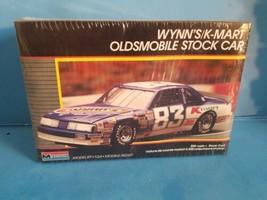 Rare Wynn's K-Mart #83 Oldsmobile Nascar Model Kit #2779 Monogram 1988 #2779 - $23.36