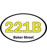 221B Baker Street Sherlock Holmes Car Bumper Sticker Decal 5'' x 3'' - $4.29