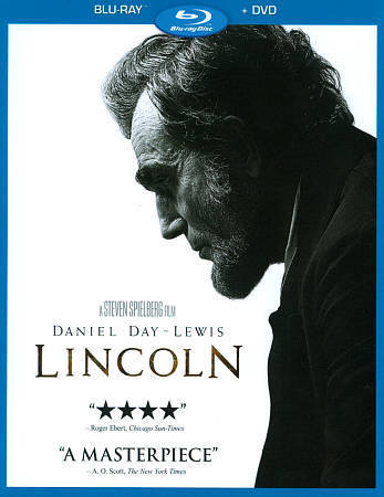 Lincoln  (Blu-ray/DVD, 2013, 2-Disc Set) New Daniel Day Lewis