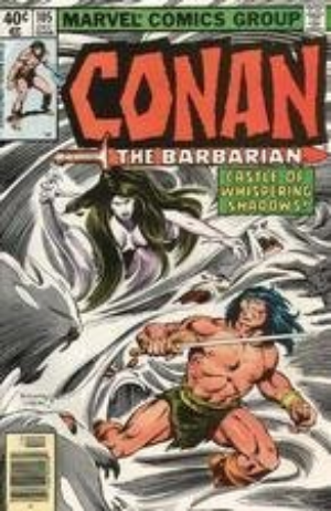 105 Dec 02498 Conan Marvel Comics Group