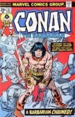 57 Dec 02498 Conan Marvel Comics Group