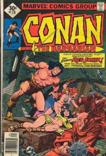 Conan the Barbarian #78 (Sept 1977) [Unknown Binding] [Jan 01, 1977] Roy Thom...