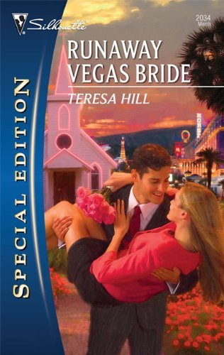 Runaway Vegas Bride By  Hill, Teresa
