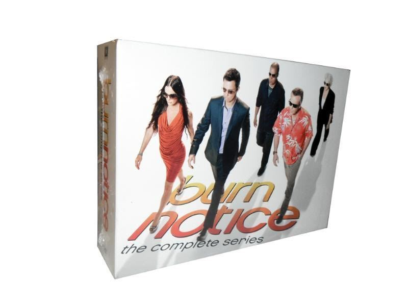 Burn Notice The Complete Series [DVD Set] TV Show All Seasons  1-7