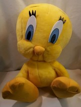 "Vtg.Looney Tunes Tweety Plush Doll 24"" Jumbo Soft Stuffed Toy - $35.52"