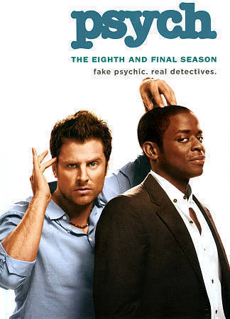 Psych - The Complete Eighth and Final Season 8 (DVD Set) TV Series New