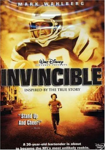 Invincible by Mark Wahlberg [DVD]