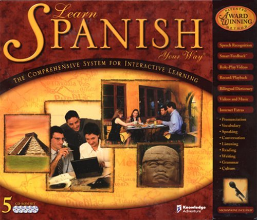 Learn Spanish Your Way CD-ROM  Windows 98 / Windows Me / Windows 95