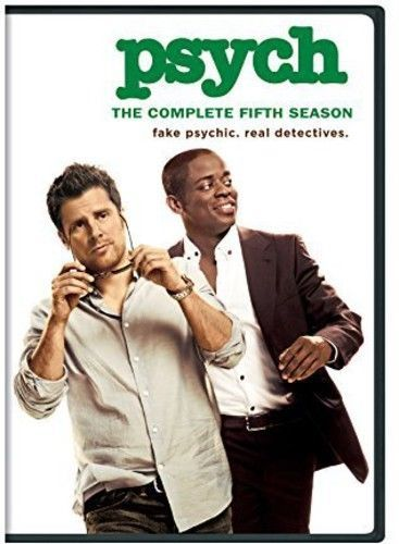 Psych: The Complete Fifth Season 5 (DVD Set) TV Series New