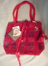 Victoria's Secret Red Enchanted Apple Tote Small Bag NWT - $16.95