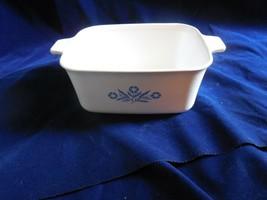 """Corning Ware Blue Cornflower 9x5 1/2x3"""" 1 1/2 qt  loaf pan   P-4-B - $13.81"""