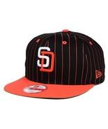 "San Diego Padres MLB New Era 9Fifty ""Vintage Pi... - $17.77"