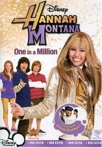 Hannah Montana: One in a Million Dvd
