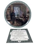 Merry Christmas Bob Plate A Christmas Carol Lloyd Garrison 1993 Collector Plate - $44.55