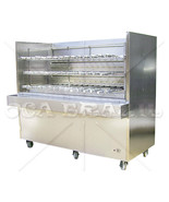 BRAZILIAN CHARCOAL GRILL FOR BBQ 44 SKEWERS - PROFESSIONAL GRADE - READY... - $12,125.00