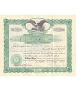 Original Vintage Stock Certificate for Luther's Corners Fire & Library 1... - $285,96 MXN