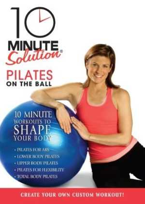 10 Minute Solution: Pilates On The Ball Dvd