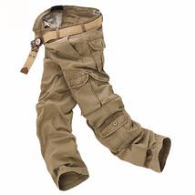 Multi-Pocket Pants Male Casual - $79.00