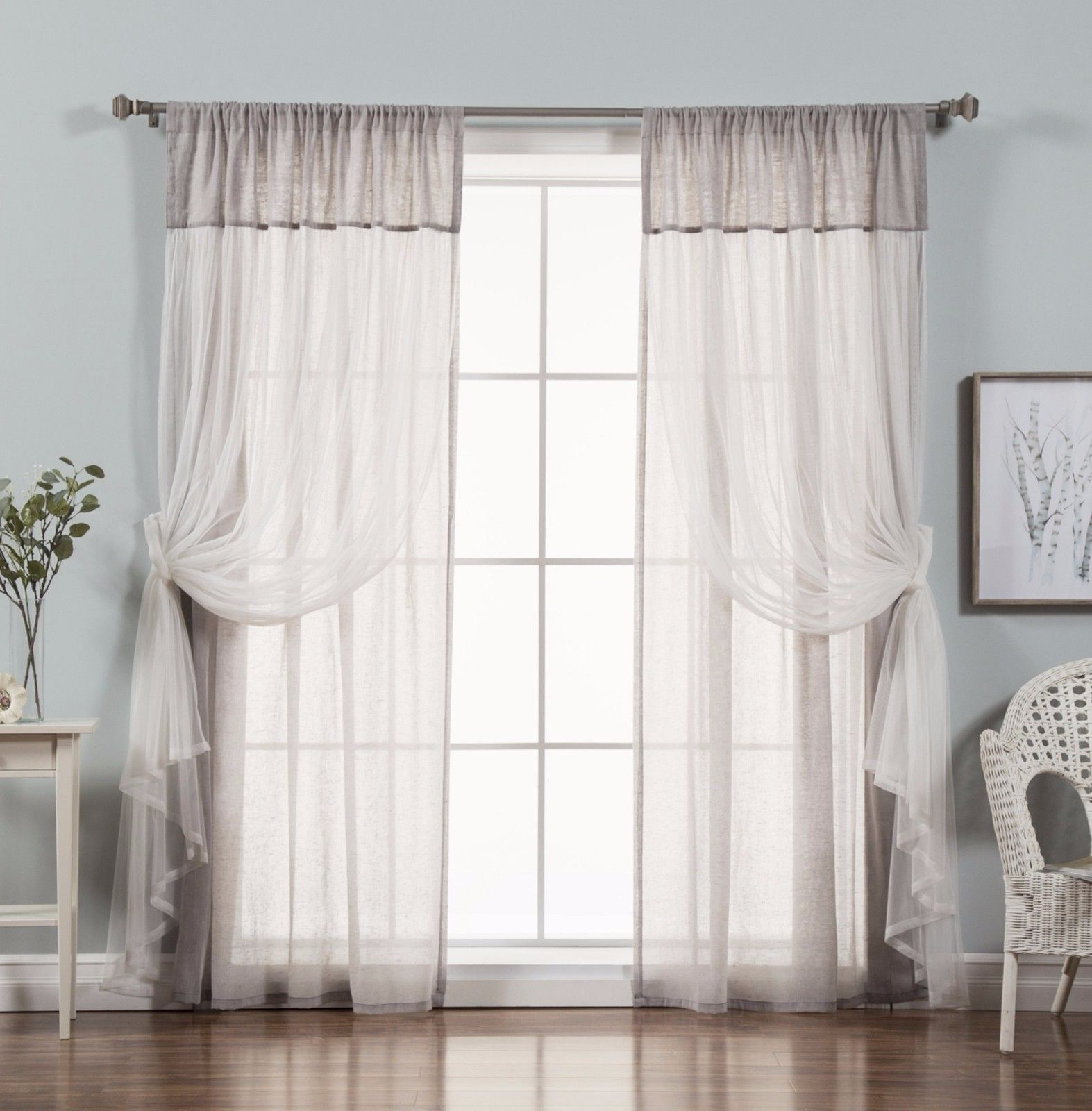 Window Curtains And Drapes 84 Inches Long Bedroom