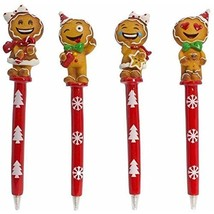 Gingerbread Emogee Pens - Set of 4 - $20.00