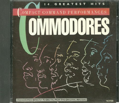 Command Performances by Commodores Cd