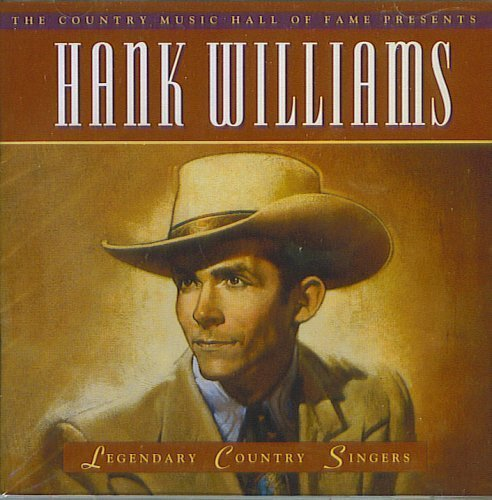 The Country Music Hall Of fame Presents: Hank Williams Cd