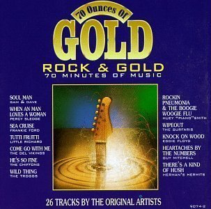 70 Oz of Rock Gold by Various Artists Cd