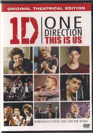 1d One Direction This Is Us  Dvd