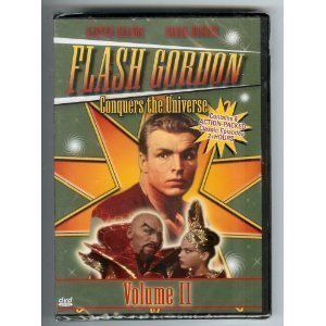 Flash Gordon Conquers The Universe, Volume II Dvd