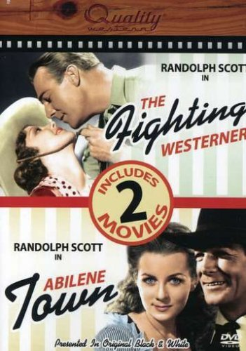 The Fighting Westerner / Abilene Town Dvd