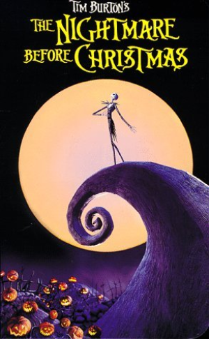 Tim Burton's The Nightmare Before Christmas Vhs