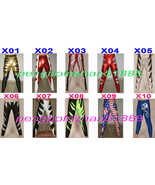 NEW 10 COLOR SHINY LYCRA METALLIC PANTS UNISEX WRESTLING PANTS TROUSERS ... - $32.99