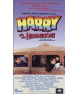 Harry and The Hendersons Vhs  - $9.25
