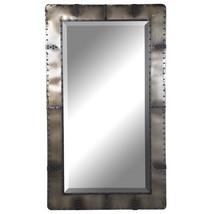 Restoration Hardware Replica Aviator Wall, Floor, Leaner Mirror Rivets X... - $663.00