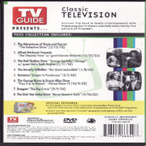 TV Guide Presents Classic Television Dvd image 2