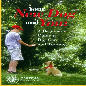 Your New Dog and You: A Beginner's Guide to Dog Care and Training Dvd