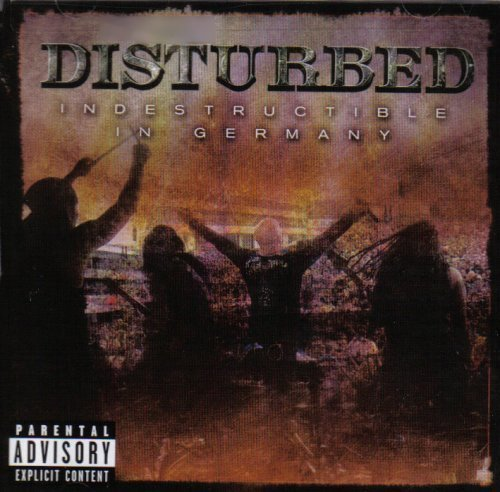 Disturbed Indestructible in Germany Cd