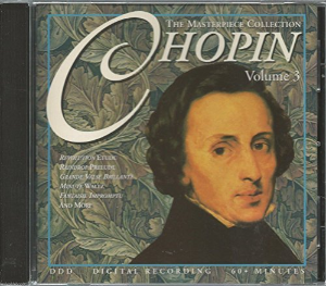 Masterpiece Collection: Chopin By Chopin Cd