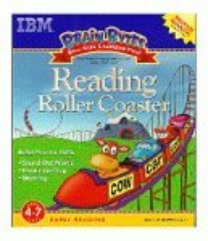 Brain Bytes Reading Roller Coaster Ages 4-7 CD-ROM