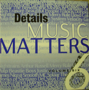 Details Music Matters Volume 6 Cd