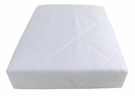 10 X HOTEL QUALITY WATERPROOF QUILTED 4 FOOT MATTRESS PROTECTOR 122x190CM - $85.19