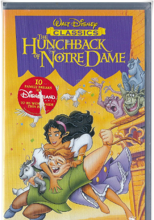 The Hunchback of Notre Dame Vhs