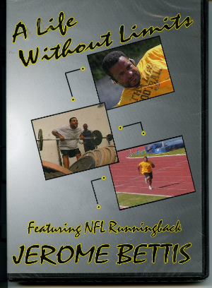 A Life Without Limits - Featuring NFL Runningback Jerome Bettis Dvd