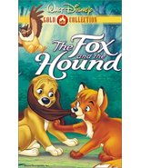 The Fox and the Hound (Walt Disney Gold Classic Collection) [VHS] [VHS T... - $6.50